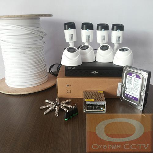 Paket CCTV 8ch Asonic 1MP