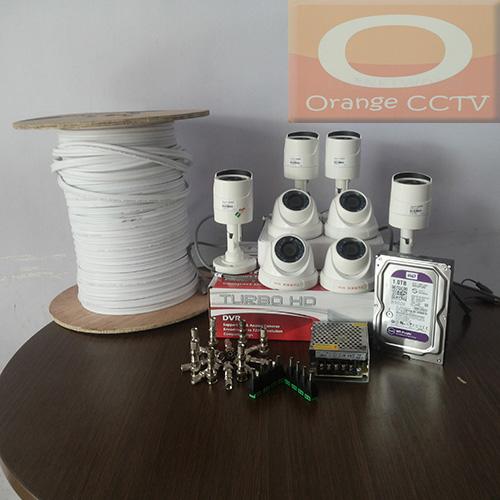 Paket CCTV 8ch Turbo HD 1,3 MP