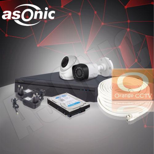 Paket CCTV Asonic 2MP 4 Channel 2 Kamera #3