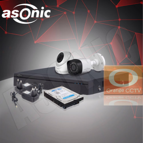 Paket CCTV Asonic 2MP 4 Channel 2 Kamera #2