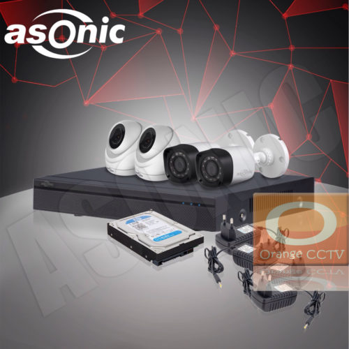 Paket CCTV Asonic 2MP 4 Channel 4 Kamera #2